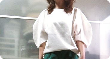 ZARA ふんわり袖 ボリューム袖 トップス