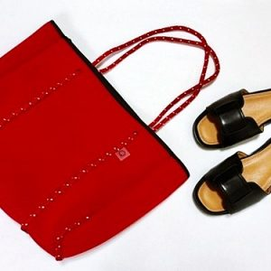 プチプラファッション ネオプレントートバッグ Qバッグ