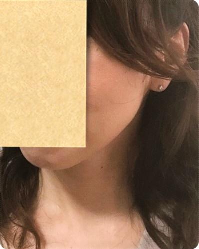 神ファンデ マキアレイベル 美容液ファンデーション 使用後画像 拡大