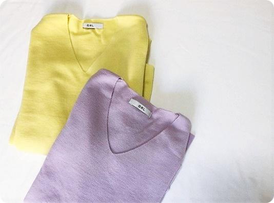 プチプラファッション GRL 春カラーニット