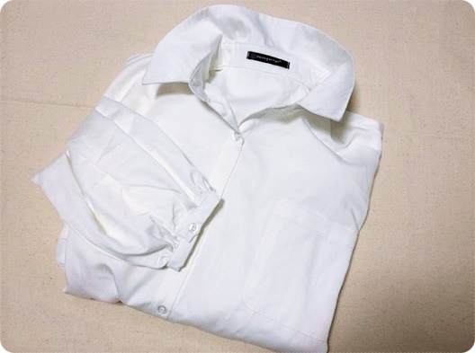 春ファッション プチプラ ホワイトシャツ