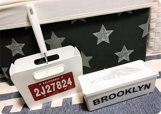 インテリア雑貨 プチプラ 100均 セリア seria コロコロケース ビニール袋BOX