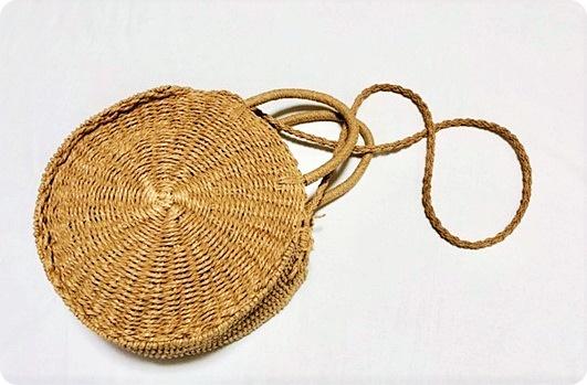 プチプラ サークル カゴバッグ