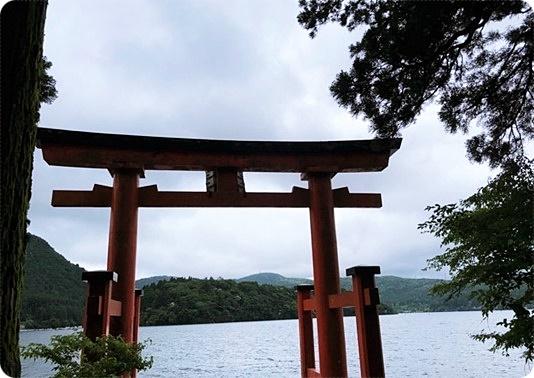 日帰り旅行 箱根神社