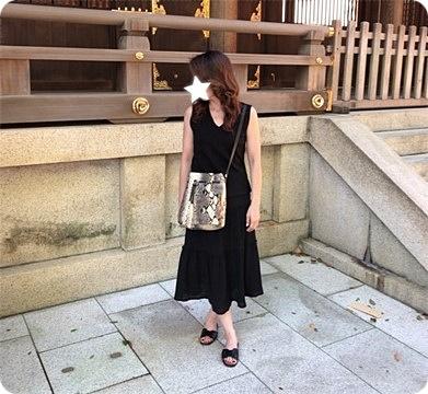 ファッションコーデ 夏のモノトーンコーデ