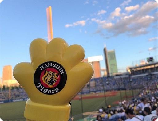 神宮球場 ヤクルトVS阪神タイガース プロ野球観戦