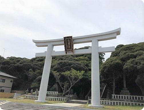 茨城県 大洗町 磯前神社 鳥居