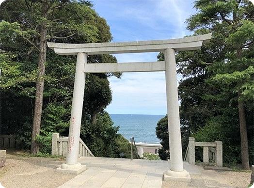 茨城県 大洗磯前神社 鳥居