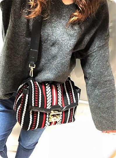 ファッションコーデ プチプラ ニット H&M