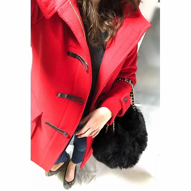 ファッショコーデ 30代ファッション ダッフルコートコーデ