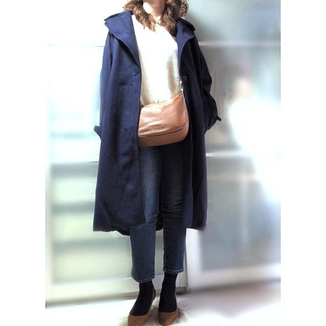 ファッションコーデ 靴下×パンプスコーデ
