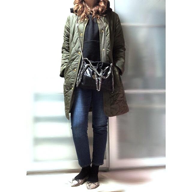 ファッションコーデ 大人カジュアル 靴下コーデ