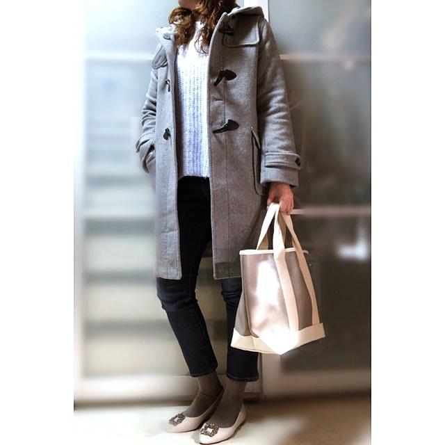 ファッションコーデ GU 春色 ニット
