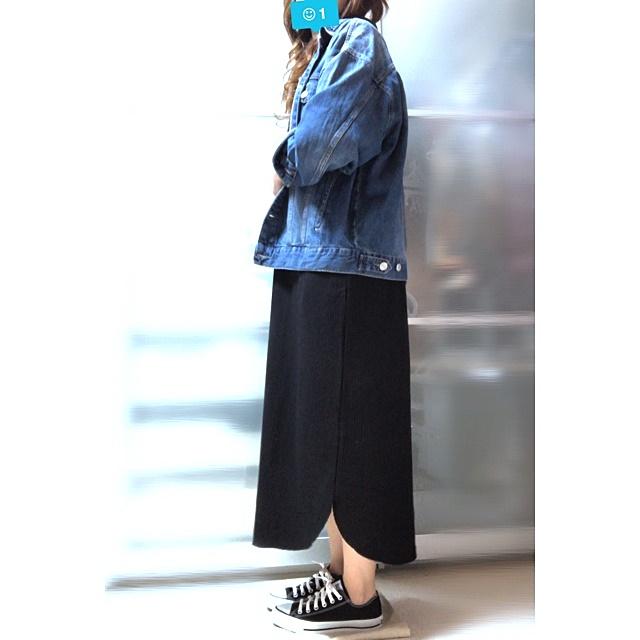 プチプラファッション サーマルワンピース